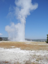 Old Faithful in Aktion